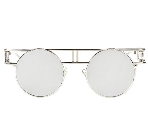 Verde gafas Lente Vintage Steampunk Retro Gótico Sunglasses Oro Marco sol de de Metal 7qSPdP6Ow