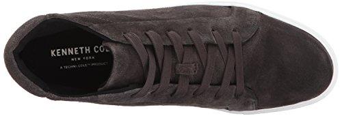 Kenneth Cole New York Femmes Janette Haut Top Lace Up Plate-forme Daim Fashion Sneaker Asphault