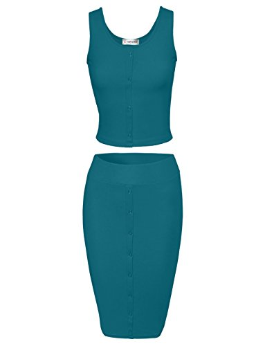 Toms Ware Stylish Two Piece Bodycon