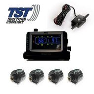 Truck Systems Technology TST 507 Tire Pressure Monitor w//8 Cap Sensors with Color Display