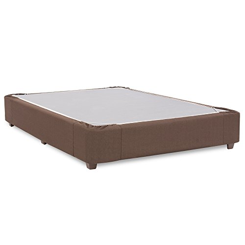 Howard Elliott 241-202S Platform Bed Conversion Kit & Boxspring Cover, Full, Sterling Chocolate