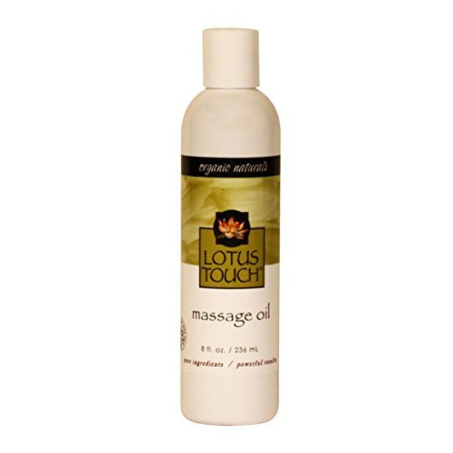 (Lotus Touch Organic Naturals Massage Oil 8 Oz)