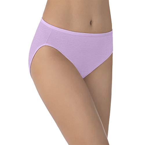 Vanity Fair Women's Illumination Hi Cut Panty 13108, Wild thistle, 2X-Large/9