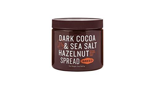 Baked Dark Cocoa and Sea Salt Hazelnut Spread, 13 Ounce - Choc Spread