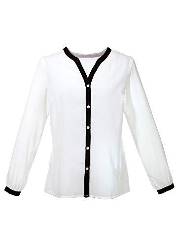 Body Flirt - Camisas - cuello en V - para mujer