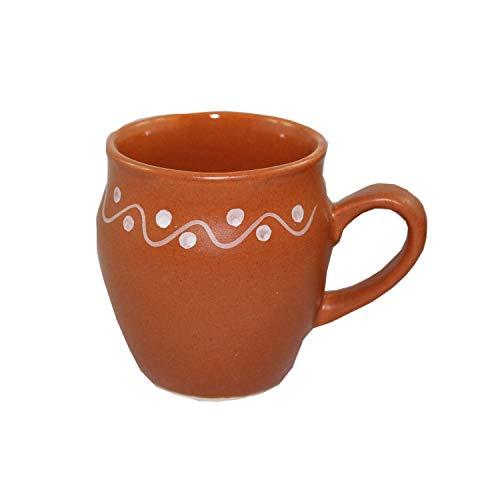 Odishabazaar Kulhar Kulhad Cups Traditional Indian Chai Tea Cup Set of 6 (5.4 oz) by Odishabazaar (Image #1)