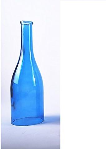 Rustica lampara techo lamparas retro vintage Bar Restaurante Tienda Verde del vino de DIY Botella lámpara colgante retro simple LOFT un cabezal multi-color de la luz de techo lámpara de cristal de Nav