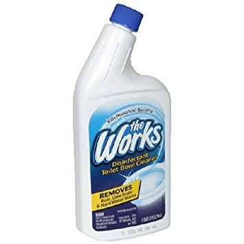 2-Pack Home Care Lab The Works 32-Ounce Toilet Bowl Cleaner