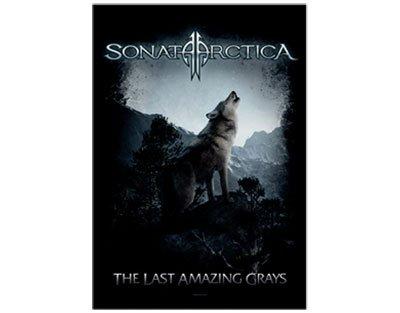Sonata Arctica the Last Amazing Grays Flag / Textile (Last Sonatas)