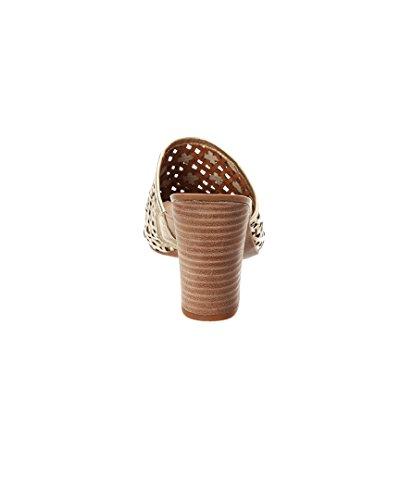 Sandale En Cuir Joselle Franco Tailor, 7.5, Beige
