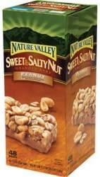 『並行輸入品』ネイチャーバレー グラノーラバー (ピーナッツ) スウィート&ソルティーナッツ 48本入り Nature Valley Granola Bars (Peanut) Sweet & Salty Nut