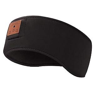 Sleep Headphones, MUSICBEE Bluetooth Sports Headband & Ear Warmers, Bluetooth 5.0 Ultra-Thin HD Stereo Speakers are…