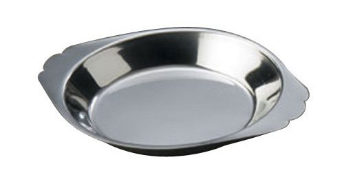 American Metalcraft AR080 Round Stainless Steel Au Gratin Dish, - Steel Dish Gratin Stainless Au