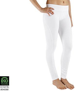 Chin Mudra Yoga Legging 95% algodón Bio y 5% de Lycra – Blanco ...