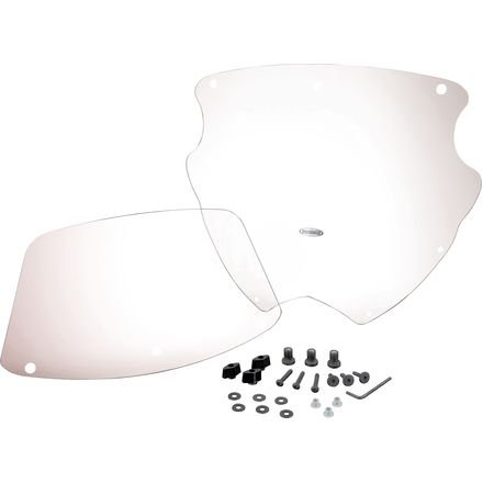 Chrome Panel Windshield (Show Chrome Accessories 20-121 Adjustable Height Windshield)