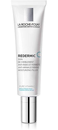 (La Roche-Posay Redermic C Pure Vitamin C Moisturizer for Dry Skin, 1.35 Fl. Oz.)