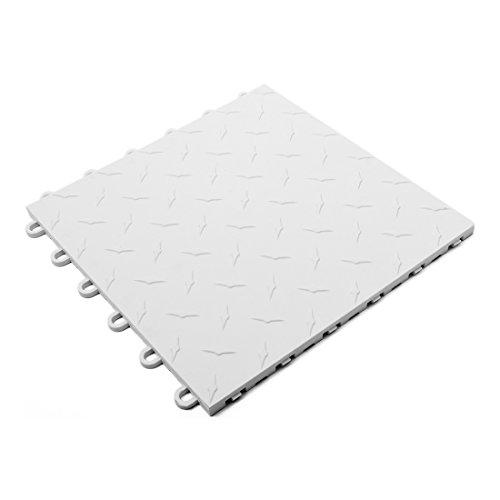 Speedway Garage Tile 789453W White Garage Floor Tile