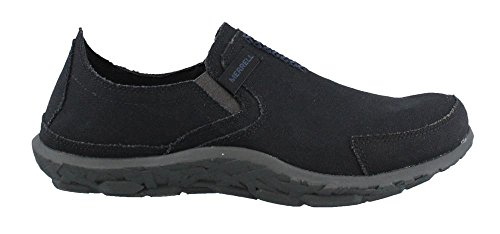 Merrell Mens Slipper Fashion Sneaker Black / Navy
