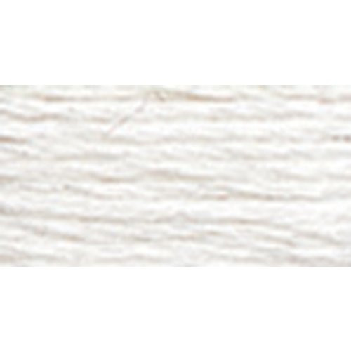 DMC 116 5-B5200 Pearl Cotton Thread Ball, Snow White, Size 5 Thread Snow