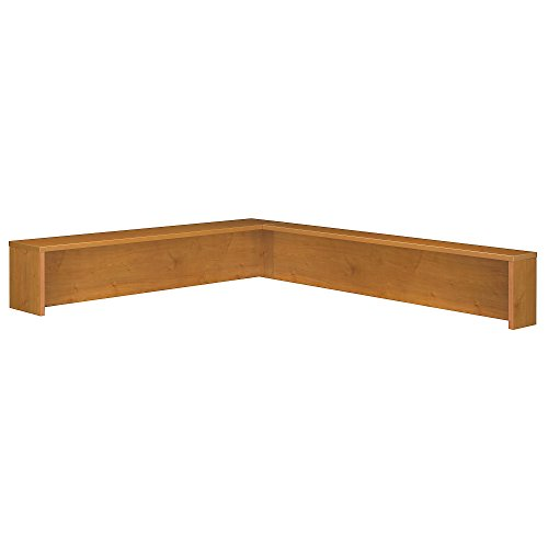 (Bush Business Furniture Series C Collection Reception L-Shelf in Natural Cherry)