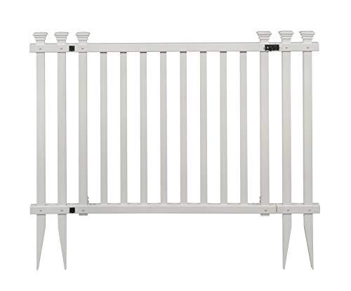 Zippity Outdoor Products ZP19038 Baskenridge Fence Gate, White
