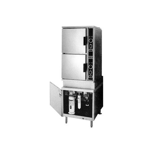 Market Forge EJ-10E ECO-JET Electric Convection Steamer with (2) Five Pan Compartments & 24