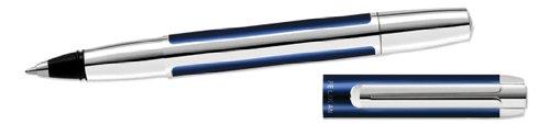 Pelikan Pura Series Blue & Silver Rollerball Pen - 955013 by Pelikan