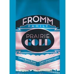- Fromm Family Foods 727071 26 Lb Prairie Gold Large Breed Dry Puppy Food (1 Pack), One Size