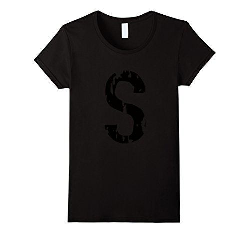 Television Show Halloween Costumes (Womens S LOGO costume tv show t-shirt Medium Black)