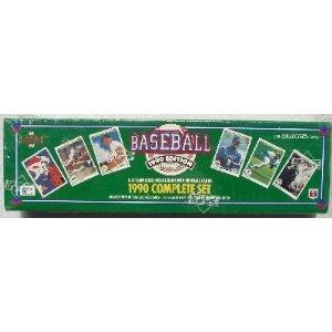 Amazoncom 1990 Upper Deck Baseball Cards Complete Set 800 Cards