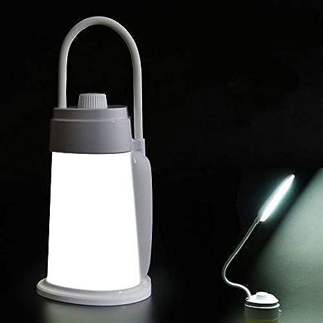 2 Pack LED Camping Lantern Tent USB Night Light Bulb Children Bed Lamp Outdoor