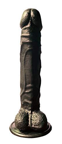 LJJOZ 18cm Silica Gel Massaging Rod Lifelike Artifical Flexible D