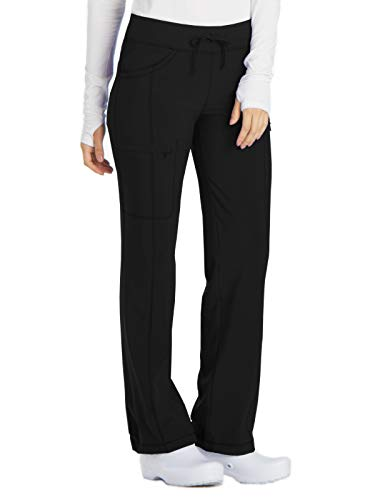 Cherokee Infinity 1123A Low Rise Drawstring Pant Black L