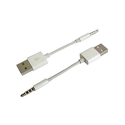 CABLE DE DATOS USB PARA IPOD SHUFFLE 4TH 5TH 6TH SEXTA GENERACION