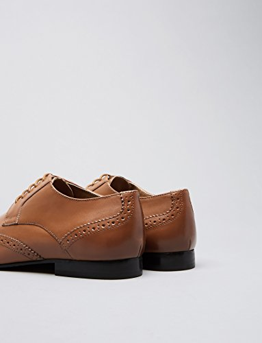 Marrone di Brogue Pelle Uomo Tan FIND wqv1AA