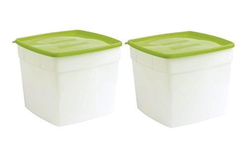 half gallon freezer containers - 1