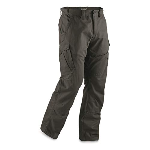 Guide Gear Men's Ripstop Cargo Work Pants, Graphite Gray, W44 L30