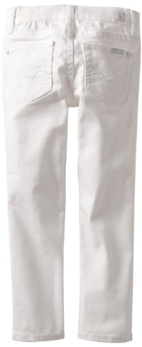 7 For All Mankind Little Girls' Roxanne, Clean White, ()