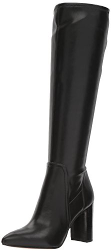 Stretch Dress Boot (Franco Sarto Women's Kolette Knee High Boot, Black, 7 Medium US)