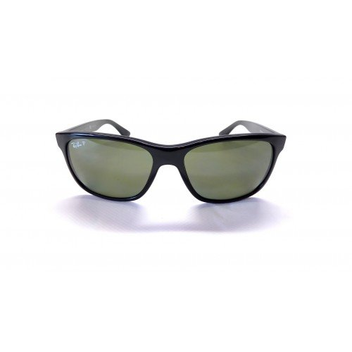 Ray-Ban RB4181 57mm Black Polarized Green Classic G-15 - Ray Sunglasses Ban Polarised