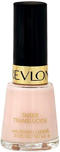 Revlon Nail Enamel, Sheer Petal 0.50 oz (Pack of 2)
