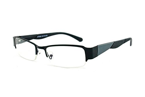 Newbee Fashion® - Unisex Squared Spring Hinge High Quality Fashion Clear Lens Glasses