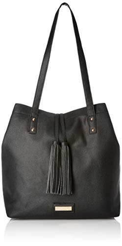 - Lica Pezo Black Women Tote (Black)