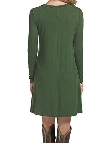 MOLERANI-Womens-Casual-Plain-Simple-T-shirt-Loose-Dress