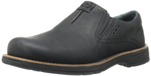 Merrell Men's Realm Moc Slip-On Shoe,Black,10 M US