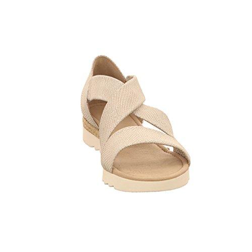 Gabor 62.711.81 - Sandalias de Vestir Para Mujer metálico