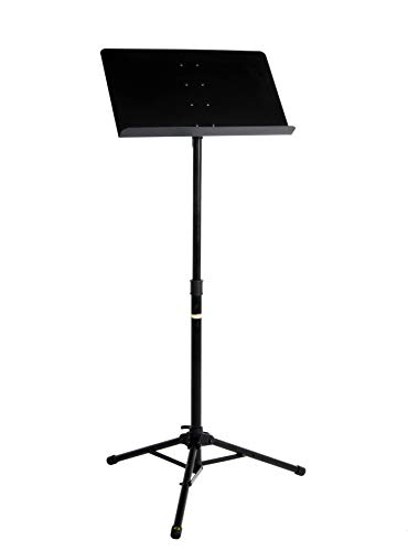 Stage Rocker Powered by Hamilton SR950080 Portable Sheet Music Stand - Black]()