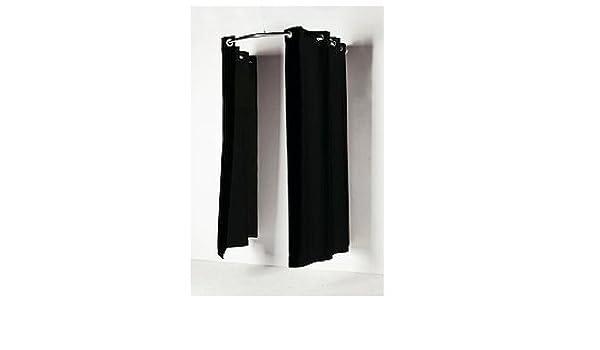 Kit de barra de cortinas para vestuarios o probadores ...