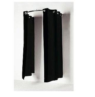 be5f964fe6d3 Kit de barra de cortinas para vestuarios o probadores: Amazon.es: Hogar
