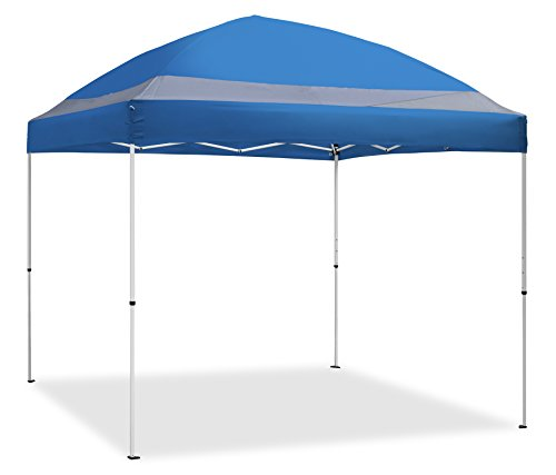 10' ArchBreeze Instant Canopy, Blue Top/White Frame (Blue Canopy Tailgate Tent)
